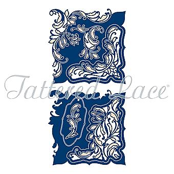 Tattered Lace Flourishing Ferns Card Shape Die