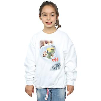 Elf Girls Distressed Poster Sweatshirt