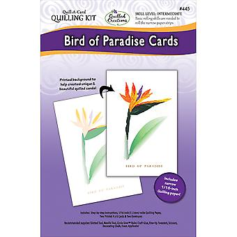 Quilling Kit-Birds Of Paradise QC445
