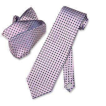 Antonio Ricci NeckTie & Handkerchief w Polka Dots Men's Neck Tie Set