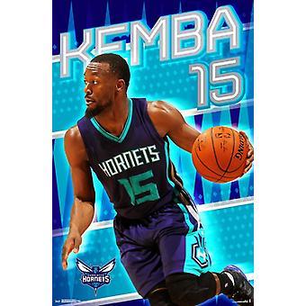 Charlotte Hornets - Kemba Walker 16 Poster Print