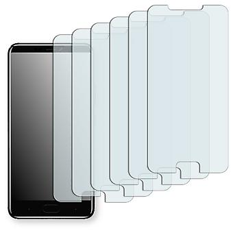 Gionee A1 plus screen protector - Golebo Semimatt protector (deliberately smaller than the display, as this is arched)