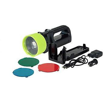 AccuLux Torch Black, Green 442081 LED 6 hrs