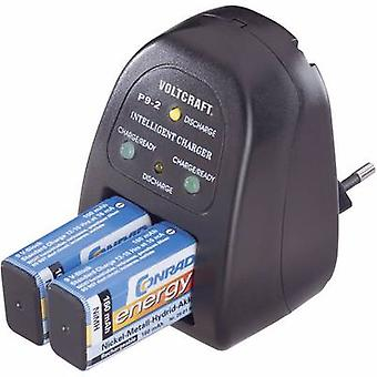 VOLTCRAFT P9-2 9V Battery Charger for 2x NiCd, NiMH
