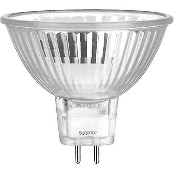 Eco halogen 49 mm Sygonix 12 V GU5.3 35 W Warm white EEC: C Reflector bulb dimmable 1 pc(s)