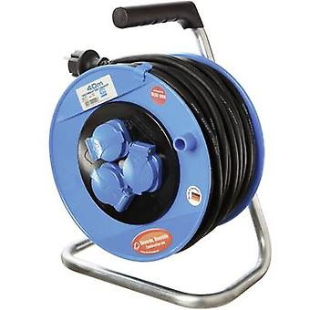 Cable reel 40 m Black PG plug as - Schwabe CO11122
