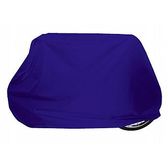 Shaped 2 Bike Cover with pull cord in colourfast waterproof breathable material