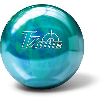 Bowling ball bowling ball Brunswick T-zone cosmic - Caribbean blue