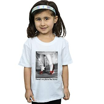 The Wizard Of Oz Girls Ruby Slippers Photo T-Shirt