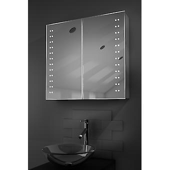 Odelle LED Bathroom Cabinet with Demister Pad, Sensor & Shaver k358