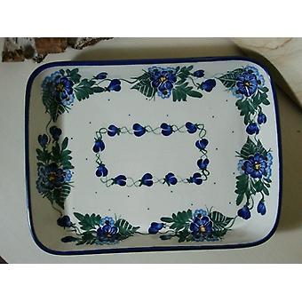 الطبق/طاجن، 19 × 24 × 4 سم، فريدة من نوعها 48-الخزف-6591 بي إس
