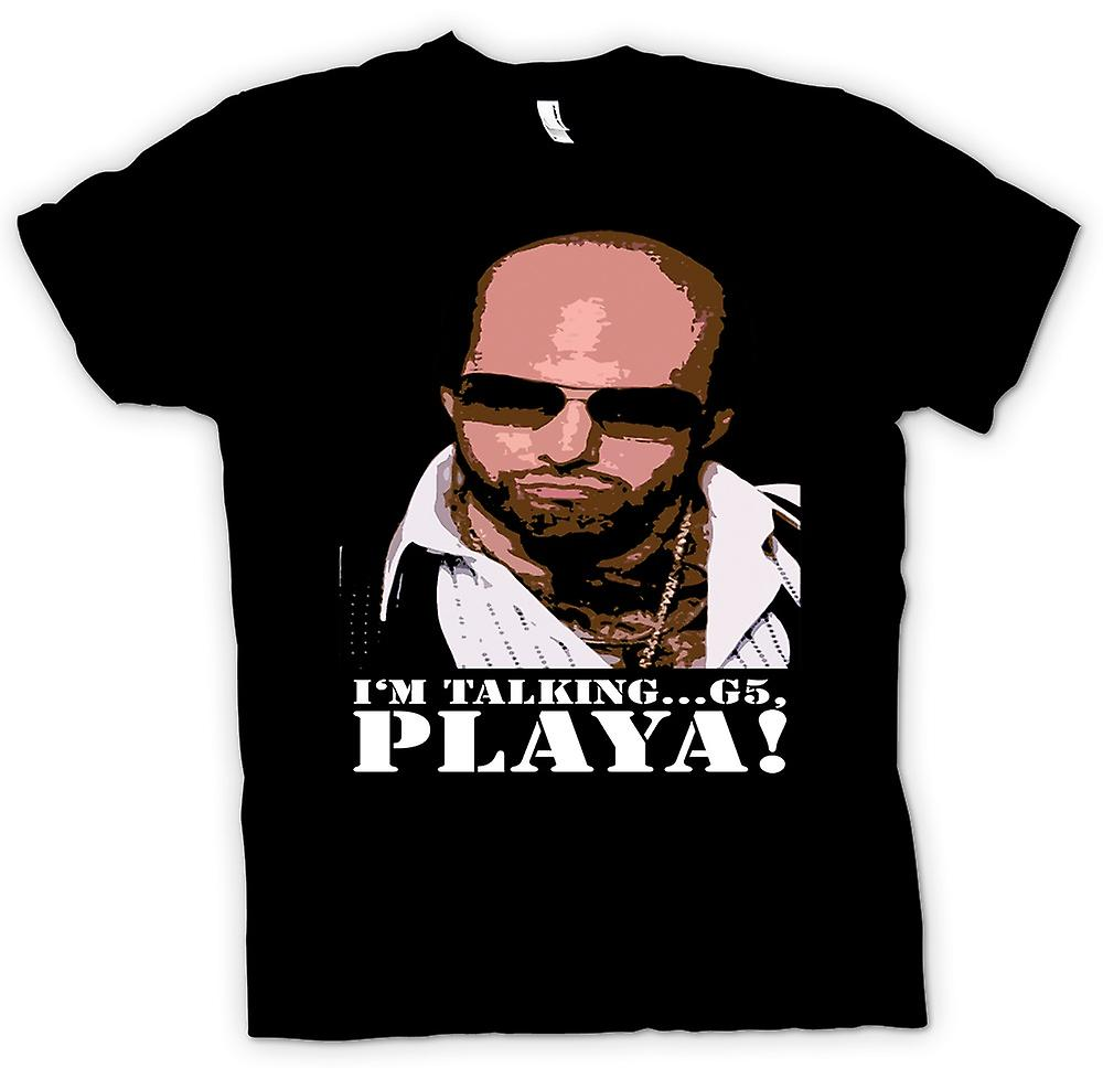 Mens T-shirt - Tropic Thunder Playa - Grossman - Funny