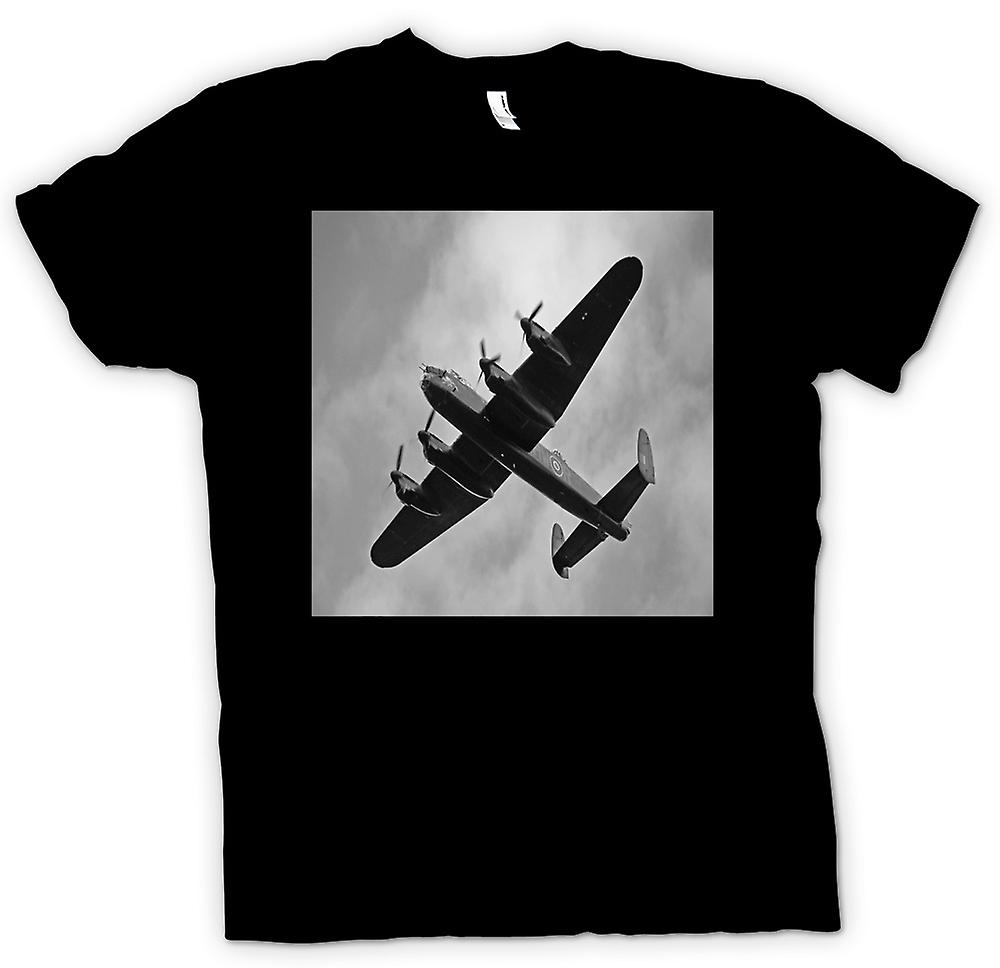Mens T-shirt-Lancaster bombardiers WW2