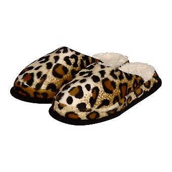 Wellness slippers animal patterns Cheetah coat 38/39