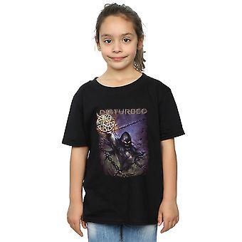 Forstyrret jenter Vortex kjeder t-skjorte