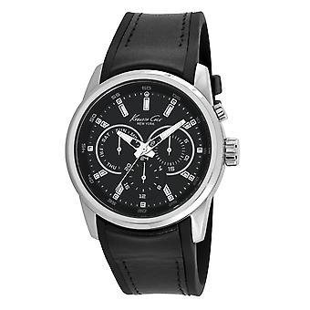 Kenneth Cole New York men's wrist watch analog quartz leather 10022534