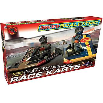 MICRO SCALEXTRIC sæt G1120 Race Karts