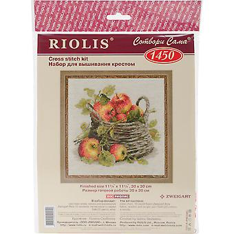 Ripe Apples Counted Cross Stitch Kit-11.75
