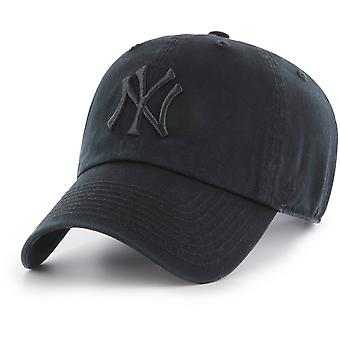 47 Brand Adjustable Cap - CLEAN UP New York Yankees schwarz