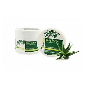 Body butter with Aloe Vera extracts 200ml.