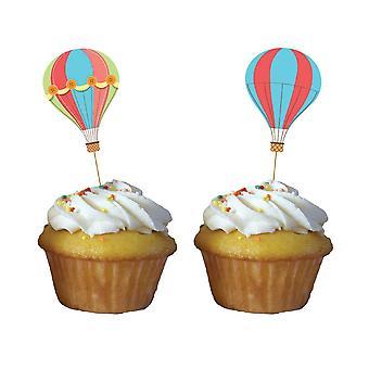 Babyballoon baby party Muffinpicker 10 cm 12 piece children birthday theme party