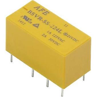 AFE BSVR-SS-224L PCB relays 24 Vdc 2 A 2 change-overs 1 pc(s)