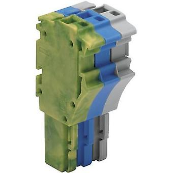 WAGO 2022-103/000-039 1 Conductor Clip Connector Series 2022 Grey, Blue, Green-yellow