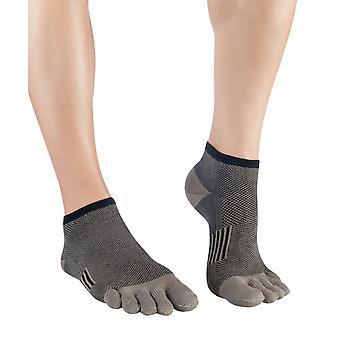 Knitido la retraite essentials masculine Equinox, orteil court chaussettes de coton,