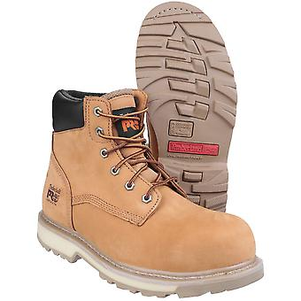 Timberland Mens Traditional Leather Lace up Toe Cap Work Safety Boot