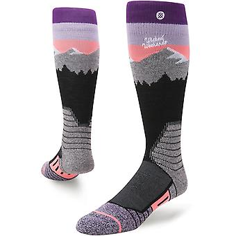 Stance White Caps Snow Socks