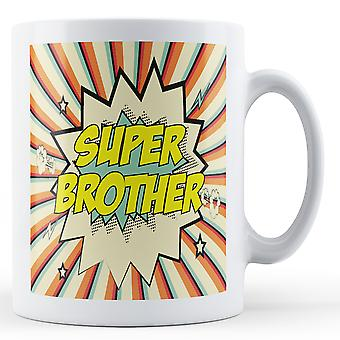 Super Brother Pop Art Mug - Printed Mug