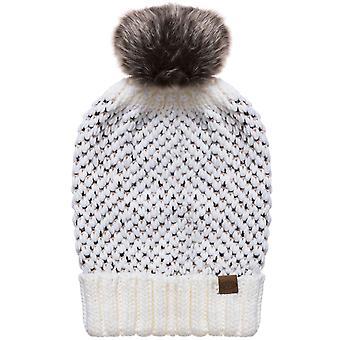 動物のレディース ブリーレ暖かい冬ニットへまビーニー帽子 - 1 つのサイズ