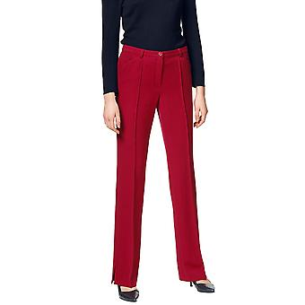PATRIZIA DINI airy women's Marlene pants red short size
