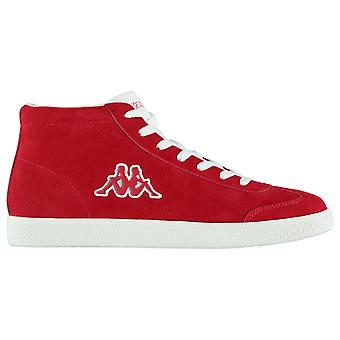 Kappa Mens Sole Mid Trainers Low Lace Up Comfortable Fit Suede