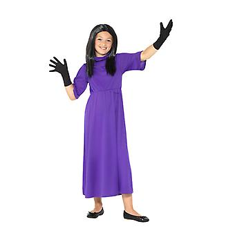 Costume Witches hexen Roald Dahl Deluxe Kids The Witches Lila with Dress Wig & Handls Kids Costume