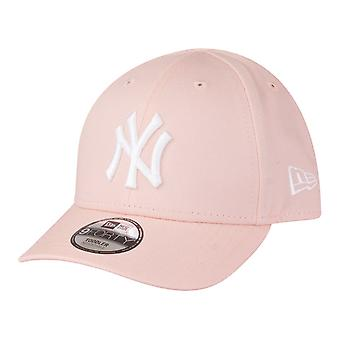 New Era 9Forty Stretched Mädchen KIDS Cap - NY Yankees rosa