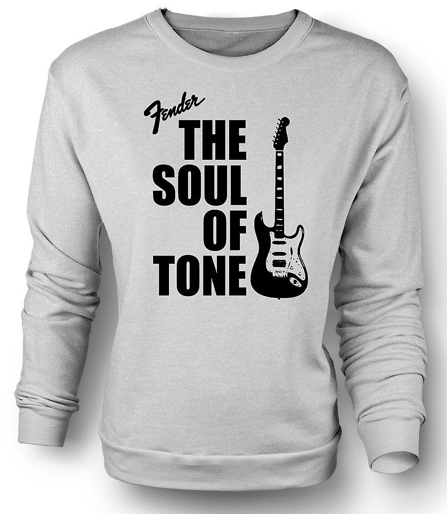 Mens felpa Fender Strat anima tono chitarra