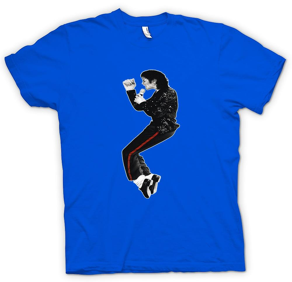 Herr T-shirt-Michael Jackson Bad
