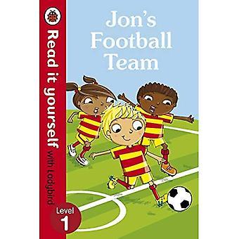 Jon's Football Team - Lees het zelf met lieveheersbeestje: niveau 1 (Lees het zelf niveau 1)
