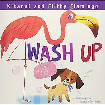 Kitanai and Filthy Flamingo Wash Up (Kitanai's Healthy Habits)