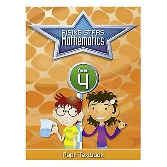 Rising Stars Mathematics Year 4 Textbook