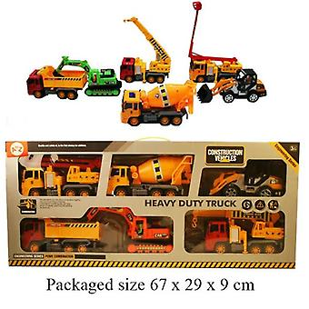 Heavy Duty Truck 6 Piece Set