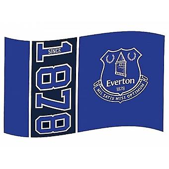 Everton FC Official Football Since 1878 5 X 3 Flag