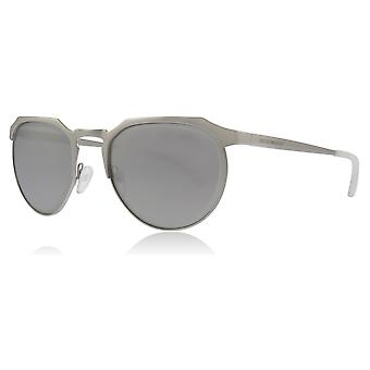 Emporio Armani EA2067 30156G Silver EA2067 Round Sunglasses Lens Category 3 Size 54mm