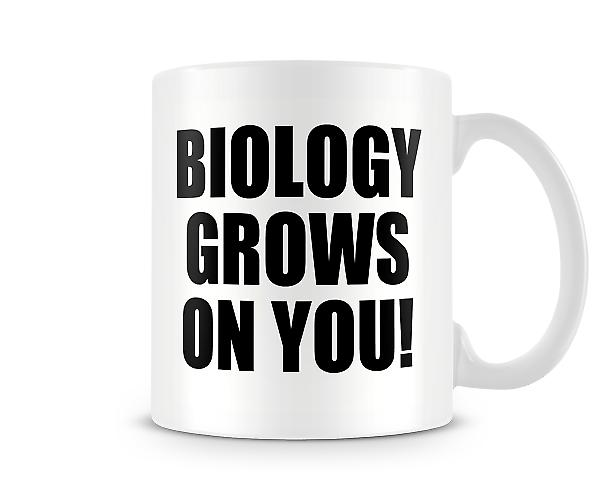 Biology Grows On You Mug