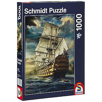 Schmidt-Segel-Set-Jigsaw Puzzle (1000 Teile)