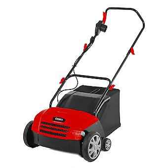 Cobra SA32E 2-in-1 Electric Scarifier Aerator with 4 cutting Heights