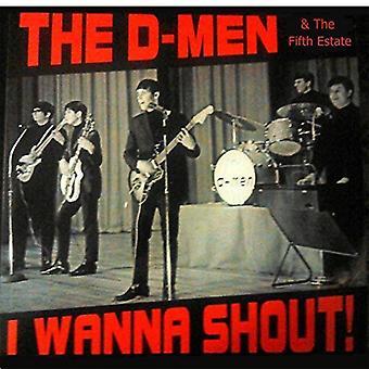 D-Men - I Wanna Shout! [Vinyl] USA import
