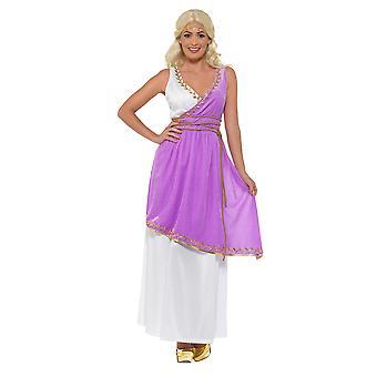 Vestido de las señoras traje de diosa griega Toga del Carnaval medieval griega antigua