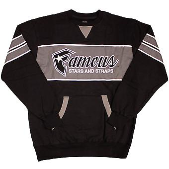 Famous Stars & Straps Fast Break Crew neck Fleece Black